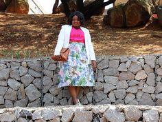 Pink chiffon shirt and white blazer Chiffon Shirt, African Fashion, Personal Style, Style Inspiration, Blazer, Lifestyle, Skirts, Pink, Skirt