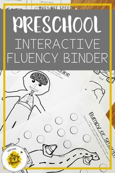 Preschool fluency therapy just got more fun!  This hands-on, interactive resource helps preschoolers learn ways to cope with and better understand their stuttering.  Research-based and covers several aspects of stuttering therapy.