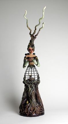 Berries for Mother, Christine K. Harris, mixed media sculpture
