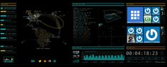A WebGL implementation of the Encom Boardroom scene in Tron: Legacy