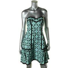 "Nanette Lepore embroidered cocktail dress Gorgeous cocktail dress with delicate embroidery, sweetheart neckline and lovely color. Hidden back zipper. Hits above knee. Bust - 12""7', waist - 12""3', total length - 29""5'. 6262 Nanette Lepore Dresses Mini"