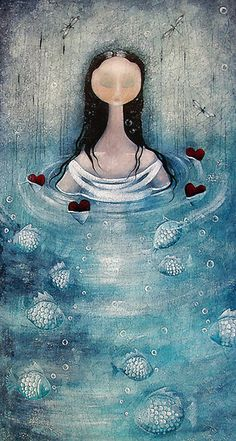 lOve floats to the top  by Amanda  Cass