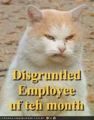 Employee of the month award.