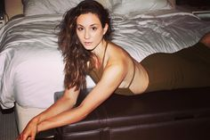 Wavy hair, don't care! Troian Bellisario is looking fierce! | Pretty Little Liars Hair and Makeup