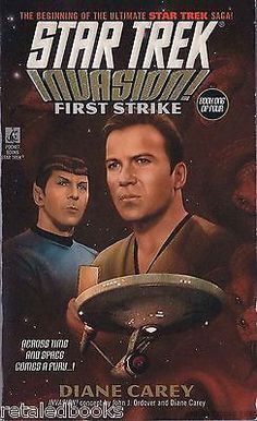 First Strike (Star Trek: Invasion #1)  by Diane Ca