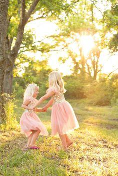 Sweet sisters! South Ga © K. Kelley Photography  229-392-6611