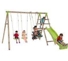 Attractive Buy Plum Silverback Wooden Garden Swing Set At Argos.co.uk, Visit Argos