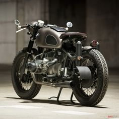 We've picked out our five favorite custom BMWs, and this is one of them. 'Mobster' has a 1984 R80 engine in a R69S frame, with R50/5 forks and a rare Schorsch Meier fuel tank. Click through to see our other chosen builds.