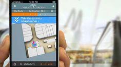 Rota com etapas | Ícone de usuário acompanha a rota | Abuzz and Google's apps support multiple levels.