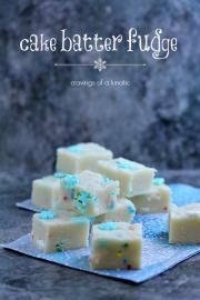 Cake Batter Fudge and @Freund Container #Giveaway #ChristmasWeek