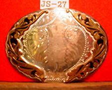 BK Silversmths SOLID STERLING SILVER Front SAFE DRIVING Belt Buckle MAKE OFFER $195.00 or Best Offer Free shippingItem image