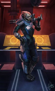 {Mass Effect: Garrus} Calibrations by AnnickHuber