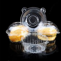 $14.49 100Pcs/set Kuchen Muffin Plastikkästen Katzen Entwurf Einweg löschen Kuchen Halter Hüllen Boxen Cont - BornPrettyStore.com