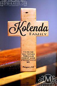Family Wall Cross