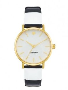 Couture Events' Favorite Things: Karina's Picks-Kate Spade Black and White Watch