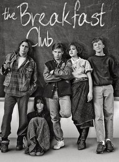 Detention... Such a simple premise for a movie... But that's exactly why it worked so well -John Hughes...a man before his time.