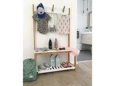 The Jimmy Organiser is the ultimate storage rack to tidy up that entryway clutter. Sleek & simple in design with a neutral palette, it's perfect for hallways! Dressing, Neutral Palette, Tidy Up, Living Furniture, Storage Rack, Mudroom, Clutter, Home And Living, Drawers