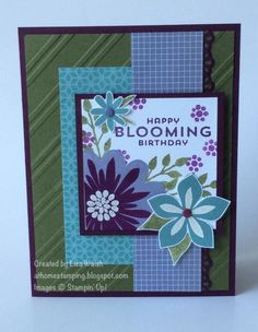 Flower Patch by suarezwalsh - Cards and Paper Crafts at Splitcoaststampers