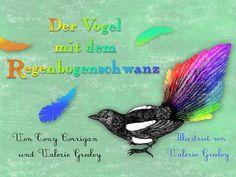"""""""Hier fehlt doch was!""""...  ... denkt sich der Vogel mit dem Regenbogenschwanz. Er muss in einer Welt leben, die nur weiße, graue und schwarze Töne kennt. Das sieht nicht nur fad aus, sondern fühlt sich auch falsch an. Also beschließt der Vogel, endlich Farbe in sein Leben zu bringen."""
