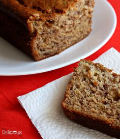Made this the other day substituted oil and sugar with apples puréed an sweetened with equal result- moist and delicious banana cake :)