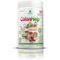 Colon Help Junior este un vitaminizant si reglator intestinal pe baza de fibre de psyllium, susan si fructe uscate. ColonHelp Junior are gust placut de fructe, se adreseaza copiilor, dar si adultilor, persoanelor aflate in convalescenta, celor sensibile la gustul plantelor aromatice, femeilor insarcinate sau celor care alapteaza.
