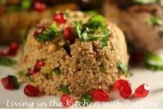 Nigella Lawson's Herbed Bulgur Wheat and Nut Salad Nigella Kitchen, Simply Nigella, Apple Sandwich, Bulgar Wheat, Lentils, Chickpeas, Nigella Lawson, Chickpea Salad, Delish