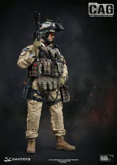 onesixthscalepictures: DAM Toys 1st SFOD-D CAG (Combat Applications Group) : Latest product news for 1/6 scale figures (12 inch collectibles) from Sideshows Collectibles, Hot Toys, Medicom, TTL, Triad Toys, Enterbay and others.