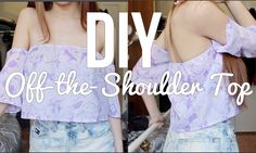 DIY || Off-the-Shoulder Hippie Inspired Top ❀