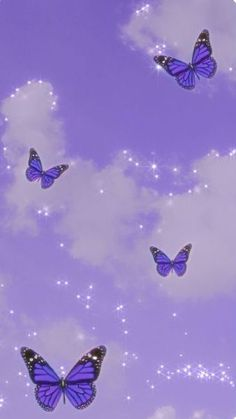 Purple Butterfly Wallpaper, Purple Wallpaper Iphone, Cartoon Wallpaper Iphone, Iphone Wallpaper Tumblr Aesthetic, Homescreen Wallpaper, Iphone Background Wallpaper, Retro Wallpaper, Aesthetic Pastel Wallpaper, Disney Wallpaper