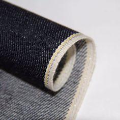 Japanese Selvedge Denim, Raw Denim, Guangzhou, Indigo, Textiles, Deep, Detail, Indigo Dye, Cloths