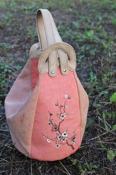"""Made by Arina Rasputina: Сумка-рюкзак """"Сакура"""""""