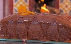 Receitas - Bolo de mel com damascos - Petiscos.com