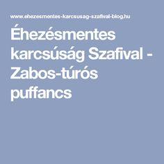 Éhezésmentes karcsúság Szafival - Zabos-túrós puffancs