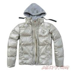 ff2c46a2ec77 Moncler Vestes Casual with fabric hoody Light Blanc Gray Jacket, Puffer  Jackets, Mens Fashion