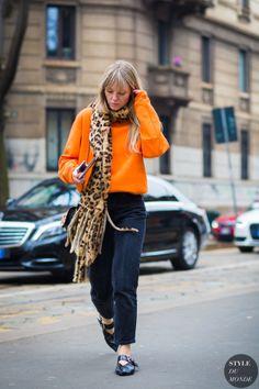Jeanette Friis Madsen Street Style Street Fashion Streetsnaps by STYLEDUMONDE…