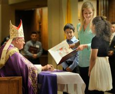 Forward in faith: Rite of Election at St. Thomas More Cathedral - The Arlington Catholic Herald