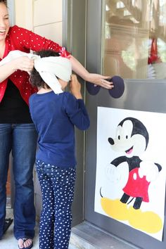 Mickey Mouse Birthday Party, we did this for Elise when she turned 5! Such a awesome idea.