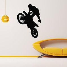 Wall Decal Vinyl Sticker Sport Boy Cycling Motocycle Bike Decor Sb183 ElegantWallDecals http://www.amazon.com/dp/B011L6EGHO/ref=cm_sw_r_pi_dp_lpjXvb0C9BX3B