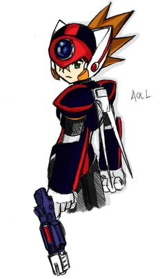 Axl from Rockman X By: ~najwah-namine Please comment and fav on the original art work which can be found here: [link] Axl - najwah-namine Megaman Series, Video Game Characters, Fictional Characters, Drawing Games, Mighty Morphin Power Rangers, Avatar, Cool Art, Art Drawings, Original Artwork