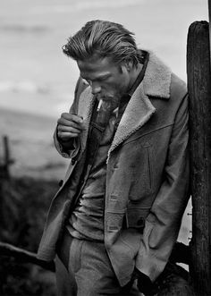 Charlie Hunnam | Man of the World Magazine | 2011 | Photography | John Balsom