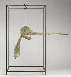 Alberto Giacometti. Le Nez, 1947, (at the Pompidou)