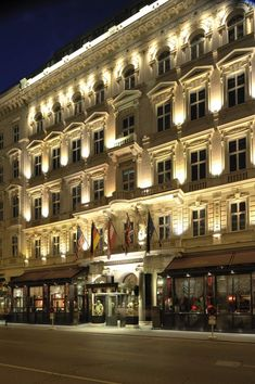 Hotel Sacher - Vienna, Austria -stay here next time ...plus Demel's, Figmuller's and the Musikverein....