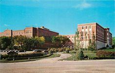 Yankton SD Sacred Heart Hospital Nurses Home MT Marty College Campus 1960 | eBay