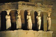 Athens Acropolis, Caryatids Erechtheum