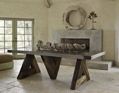 Reclaimed Tables, California | Triangle Table