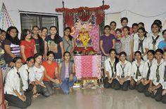 #Ganesh Festival#Girls Hostel#Nagpur