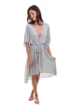 This Madeleine Flutter Robe by Eberjey is luxurious and sexy. It might be too flowy for a busy mom but it would sure make any woman feel feminine.