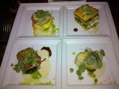 1000+ images about Fine Dining on Pinterest | Crab salad, Green beans ...