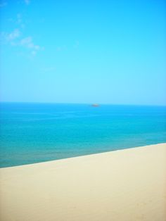 Tottori Sand Dunes, Sea of Japan