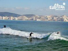 SURF EN LA PLAYA DE CULLERA www.aticocullera.es Ático de alquiler en Cullera.